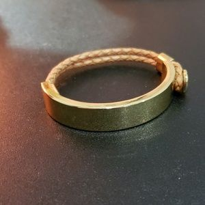 Brooks Brothers Bracelet with leather band